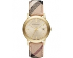 Burberry BU9026 Gold Dial Stainless Steel  Ladie..