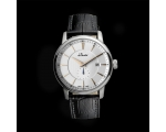 Du Maurier Maxim Gents Swiss Leather Strap Watch..