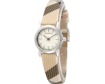 Burberry BU1759 Engraved Dial Plaid Ladies Watch