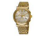 Burberry BU1757 Heritage Gold-Plated Stainless S..