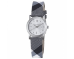 Burberry BU1386 Beat Check Silver Dial Women's W..
