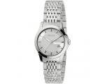 Gucci Women's YA126501 G-Timeless Stainless-Stee..