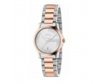 Gucci YA126528 G-Timeless Two Tone Rose Gold Lad..