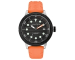 Nautica A16598G zxc Orange Resin Black Dial Men'..