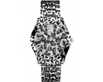 Guess W0001L1 Black Dial Steel Strap Multicolour..