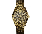 Guess W0001L2 Black Dial Steel Strap Multicolour..