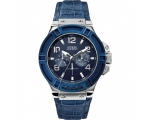 Guess W0040G7 Rigor Blue Trim Gents Watch