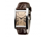 Armani AR0154 - Mens Classic Leather Strap Watch
