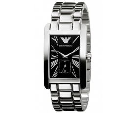 Armani AR0156 - Mens Classic Stainless Steel Designer Watch