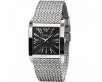 Emporio Armani AR2013 Ladies Super Slim Silver M..