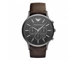 Emporio Armani AR2462 Men's Sportivo Leather Str..