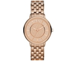 Armani Exchange Olivia Rose Gold Ion-plated Ladi..