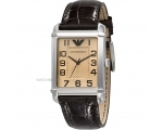 Armani Leather Collection Champagne Dial Women's..
