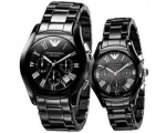 Emporio Armani His & Hers AR1400 and AR1401 Watc..