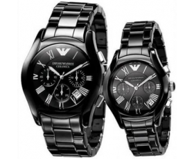 Emporio Armani His & Hers Classic Watches - AR1400 & AR1401