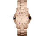 Marc by Marc Jacobs Amy Texter Rose Gold-tone La..