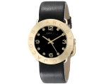 Marc by Marc Jacobs Black Dial Gold Ion-plated L..