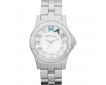 Marc by Marc Jacobs Rivera White Dial Steel Unis..