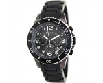 Marc by Marc Jacobs Rock Black Ion-plated Mens W..