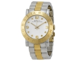 Marc Jacobs Amy Silver Dial Two-Tone Steel Ladie..