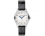 Montblanc Boheme Silver Dial Black Leather Ladie..