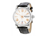 Montblanc Star 4810 Silver Guilloche Dial Mens W..