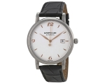 Montblanc Star Classique Silvered White Dial Men..