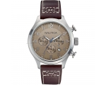 Nautica A14698G Brown Calf Leather Strap men's C..