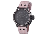 TW Steel Canteen Pink Leather Ladies Watch TW911
