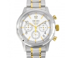 Mens Seiko Chronograph Watch SSB009P1