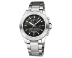 Raymond Weil Analog & Digital Stainless Steel Me..