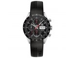 Tag Heuer Carrera Black Dial Black Rubber Mens W..