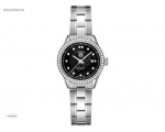 Tag Heuer Carrera Black Dial Diamond Ladies Watc..
