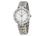 Tag Heuer Link Diamond Silver Guilloche Ladies W..