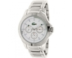 Lacoste Men's Montreal 2010731 Silver Stainless-..