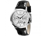 Armani ar2432 Mens Classic Chronograph Leather S..