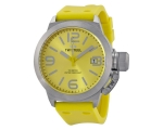 TW Steel Canteen Yellow Dial Yellow Silicone Men..