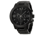 Armani Exchange Chronograph Black Aluminium Mens..