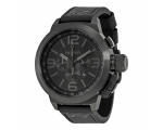 TW Steel Canteen Cool Black Black Dial Chronogra..