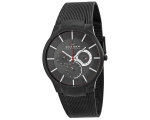 Skagen Watches 809XLTBB Mens Black Carbon Fibre ..