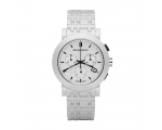 Burberry BU1770 Ceramic White Chronograph Dial W..