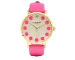 Kate Spade Metro Dot Champagne Dial Ladies Watch..