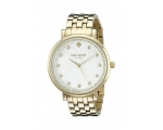 Kate Spade Monterey Gold Stainless Steel Women W..