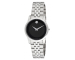 Movado Museum Black Dial Stainless Steel Ladies ..
