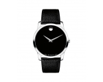 Movado Classic Black Dial Leather Men's Watch 06..