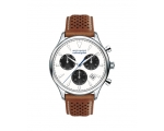 Movado Men's Cognac Leather Strap 3650008 Watch