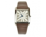 Emporio Armani AR2009 Ladies Slim Brown Leather ..