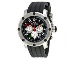 TW Steel Grandeur Tech Black Dial Chronograph 45..