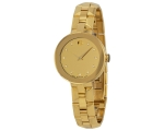 Movado Dial Gold Stainless Steel Ladies 0606816 ..