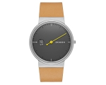 Skagen Men's Analog Mono Leather Strap Watch SKW..